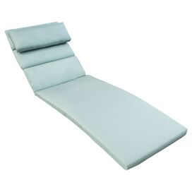 2-Piece Cabo Chaise Cushion in Bliss Blue (Set of 2)