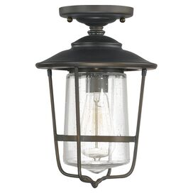 Byron Indoor/Outdoor Semi-Flush Mount