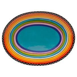 Sunrise Oval Platter