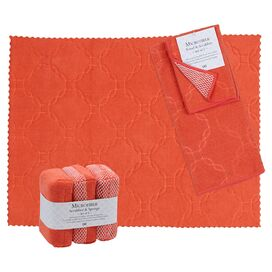 Tina Wash & Dry Set in Coral