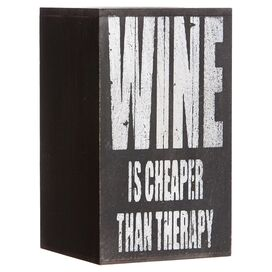 Therapy Wine Holder