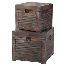 2-Piece Bristol Trunk Set