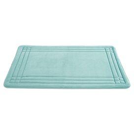Geoplex Bath Mat in Jade