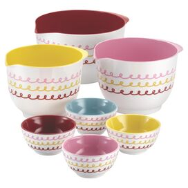 Cake Boss 7-Piece Melamine Prep Bowl Set