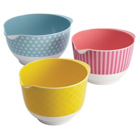 Cake Boss 3-Piece Ana Mixing Bowl Set