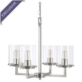 Sloan Chandelier in Polished Nickel