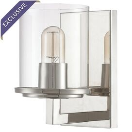 Sloan Wall Sconce in Polished Nickel