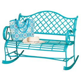 Newbury Indoor/Outdoor Rocking Bench