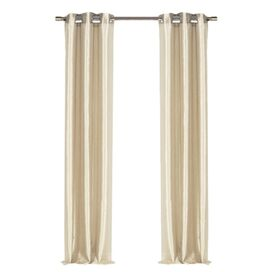 Justine Curtain Panel in Champagne (Set of 2)