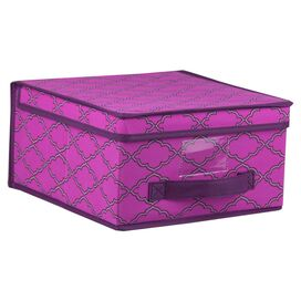 Anna Storage Box in Orchid
