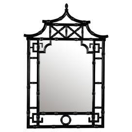 Pagoda Wall Mirror
