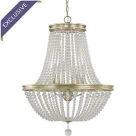 Addison Chandelier in Iced Gold