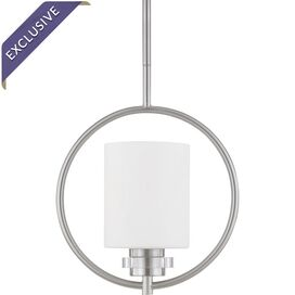 Jude Pendant in Brushed Nickel