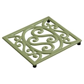 Scroll Cast Iron Trivet