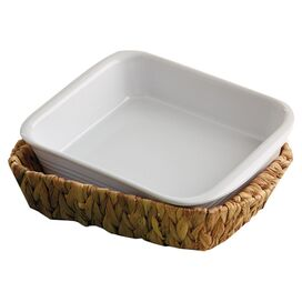 "2-Piece Edison 9"" x 12"" Baking Dish & Basket Set"