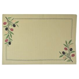Olive Branch Placemat (Set of 4)