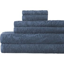6-Piece Casablanca Egyptian Cotton Towel Set