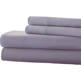 4-Piece Lise 600 Thread Count Sheet Set in Lavender