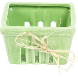 Berry Basket in Green