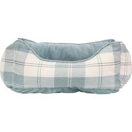 Avery Pet Bed in Light Blue