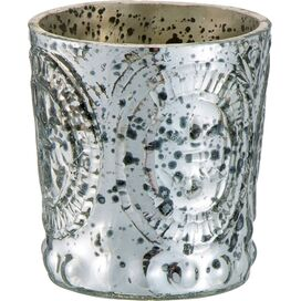 Marla Candleholder in Silver