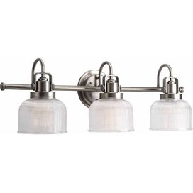 Angela Vanity Light in Antique Nickel