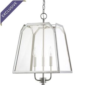 Brittney Pendant in Polished Nickel