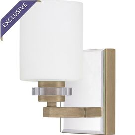 Lena Wall Sconce in Brushed Gold