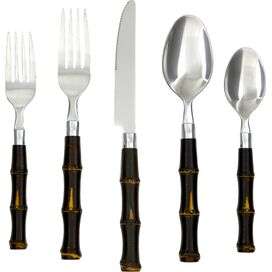 20-Piece Pandan Flatware Set