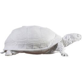 Turtle Decor in White