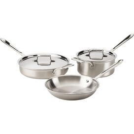 All-Clad 5-Piece Stainless Steel Cookware Set