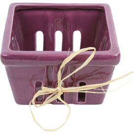 Fiona Berry Basket in Purple