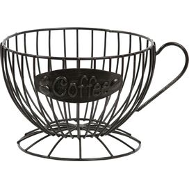 Coffee Cup Fruit Basket