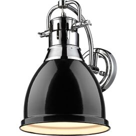 Cranston Wall Sconce in Black