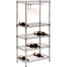 5-Tier Holly Wine Rack