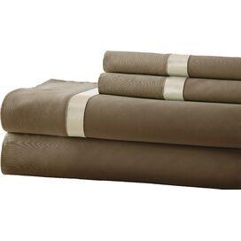 400 Thread Count Egyptian Cotton Sheet Set in Mocha