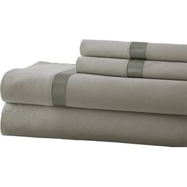 400 Thread Count Sheet Set in Silver