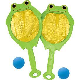 Froggy Toss: Catch Net & Ball