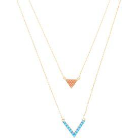 2-Piece Chevron Necklace Set