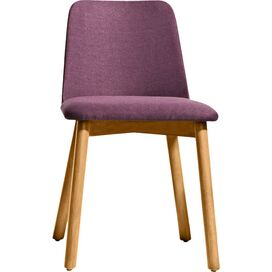 Chip Chair in White Oak/Purple