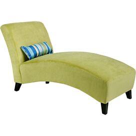 Adler Chaise in Green
