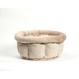 Cuddle Cup Pet Bed in Oatmeal
