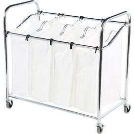 4-Compartment Laundry Sorter