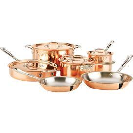 All-Clad 10-Piece Copper Cookware Set