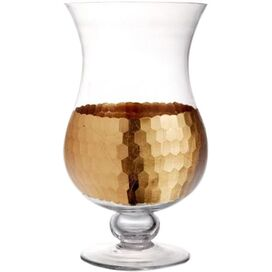 Daphne Candleholder in Gold