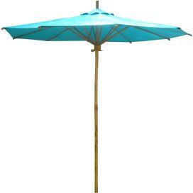 Cecilia Bamboo Umbrella in Teal