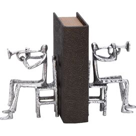 Trumpeter Bookends (Set of 2)