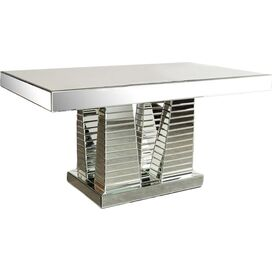 Stella Mirrored Dining Table
