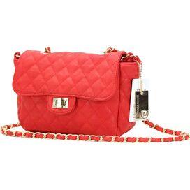 Bella Shoulder Bag in Red