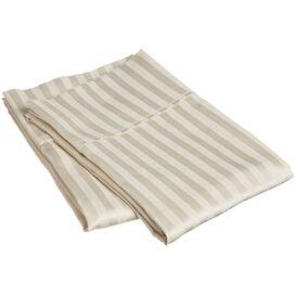 Carlotta Egyptian Cotton Pillowcase Set in Ivory (Set of 2)